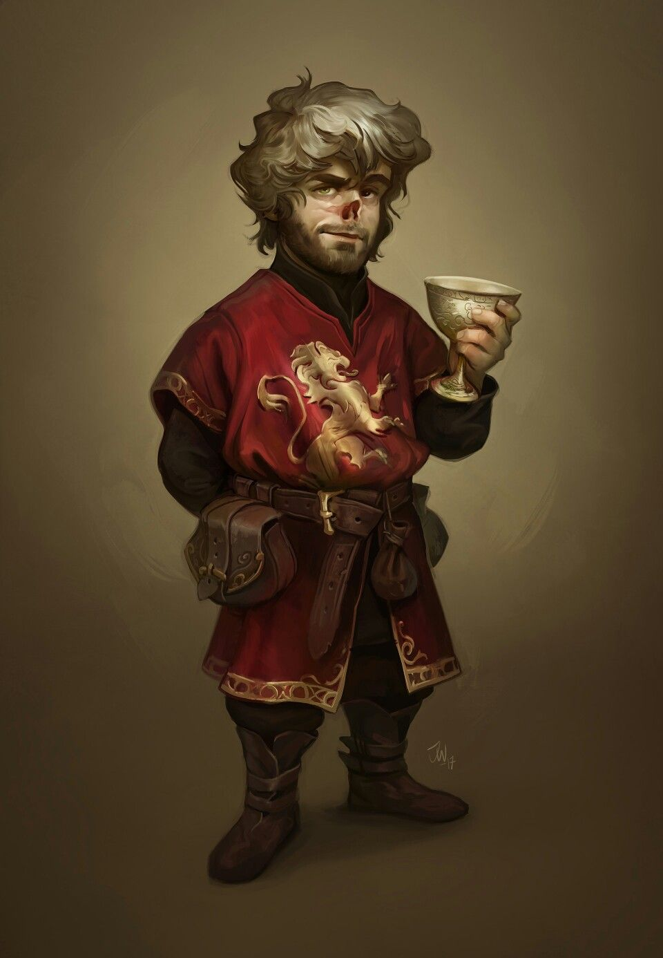 Tyrion Lannister by Jonathan Wesslund on ArtStation | Game ...