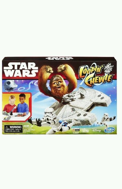 aa42e519247 STAR WARS LOOPIN CHEWIE Looping Chewbacca Hasbro Movie Board Game   NEW  SaLe in Toys   Hobbies