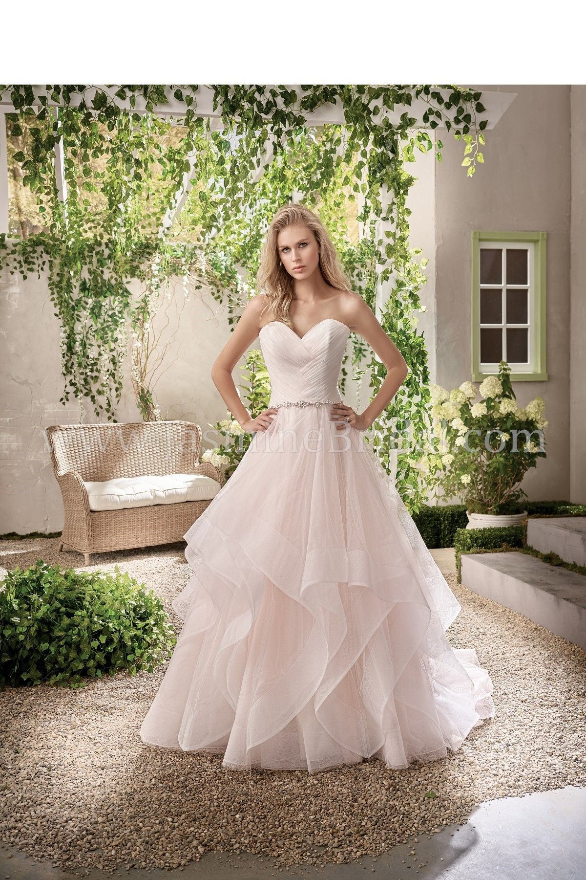 Jasmine Bridal Collection Style F191004 *Available at http://www.tie ...