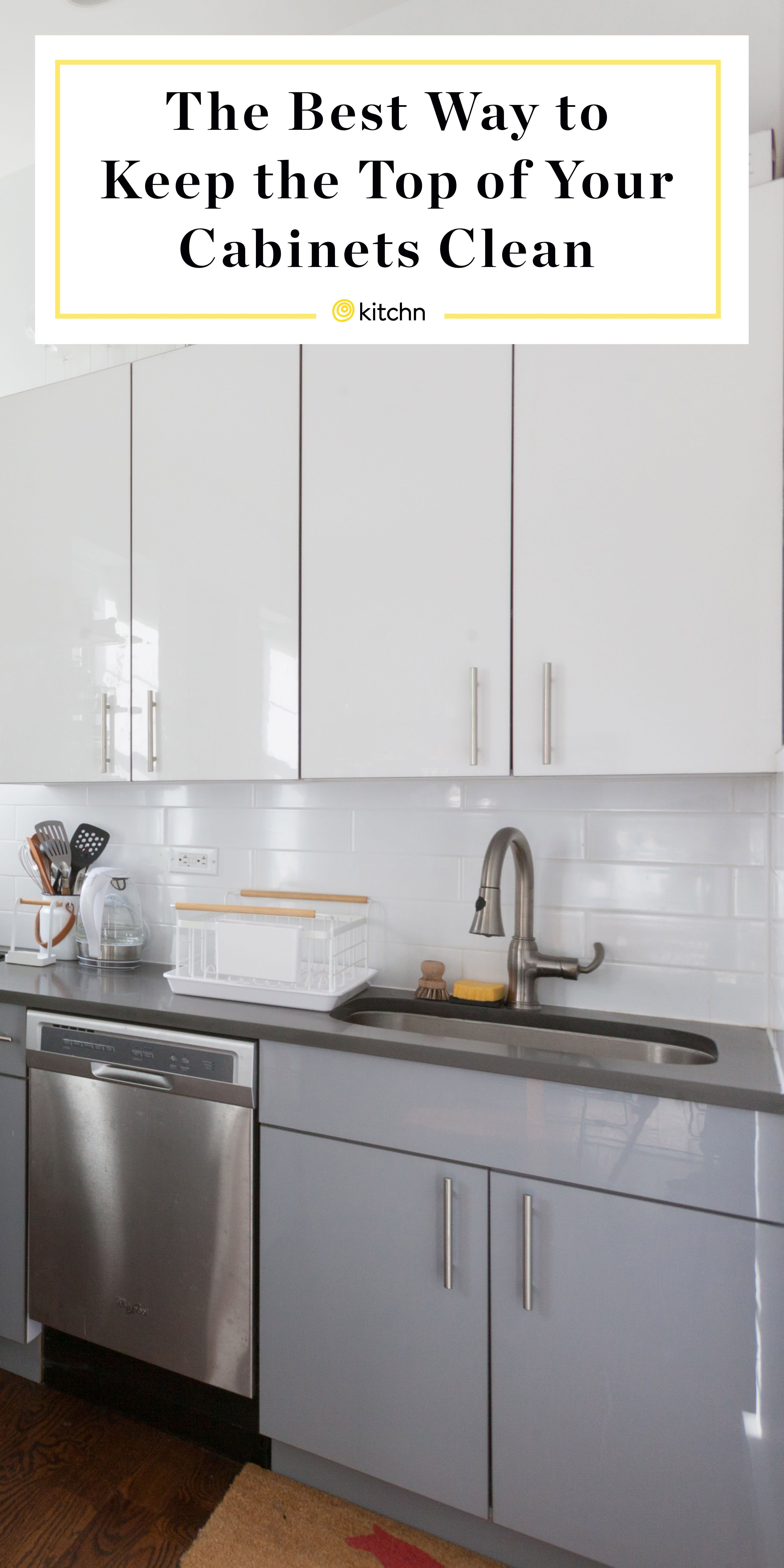 The Best Way To Keep The Top Of Your Cabinets Clean Cheap Kitchen Cabinets Cheap Kitchen Remodel Kitchen Cabinets