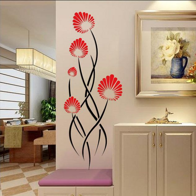15 3d wall stickers idea that will add color and fashion in the house top