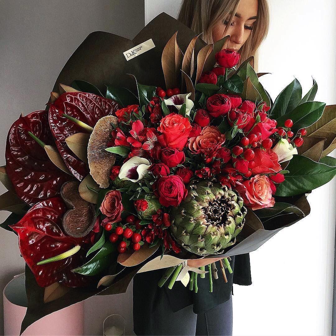 что нужно дорогой букет цветов в руках фото индейки