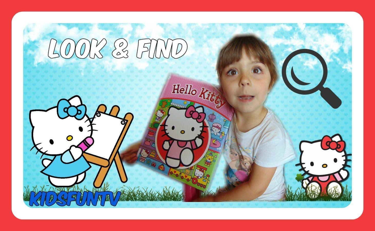 Learning With Hello Kitty First Look And Find Book For