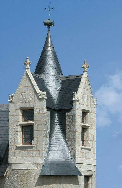 French Slate Roof Roof Architecture Building Roof Roof Design
