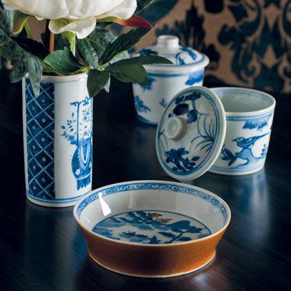 Handpainted Chinese Dish, Small
