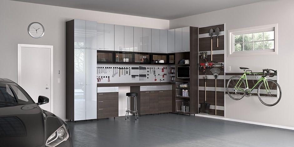 Custom Garage Storage Cabinets Garage Organization California Closets California Closets Garage Storage Solutions Garage Design