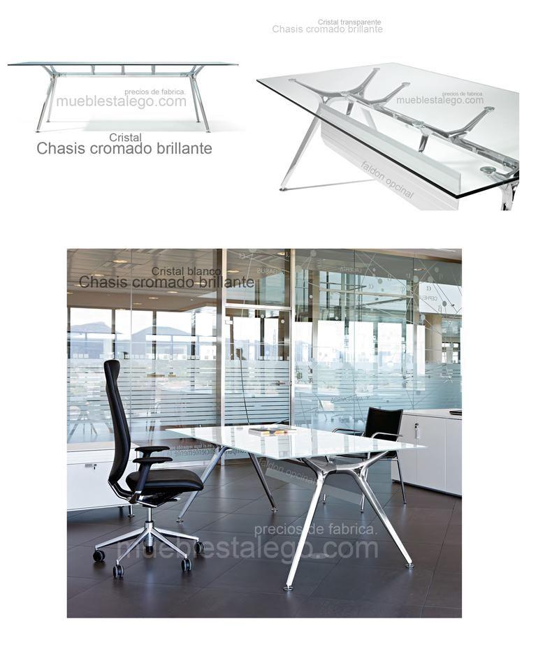 Comprar mesa de cristal de diseño ber-arkitek 200x100 ...