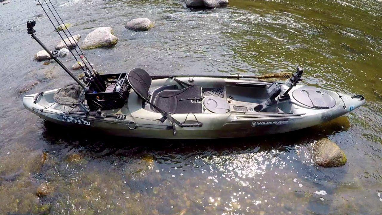 My tarpon 120 fishing kayak youtube fishing yaks for Youtube kayak fishing