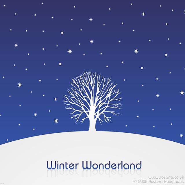 Winter Wonderland Vector Illustration Christmas Xmas Winter Snow Vector Illus Winter Wonderland Wallpaper Winter Wonderland Background Winter Background