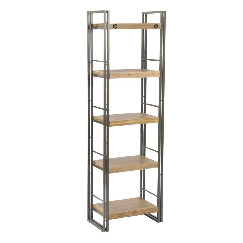 100 Small Open Bookcase Rustic Modern