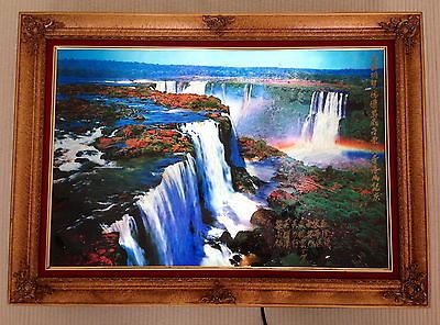 Motion And Sound Waterfall Picture Frame Famous Waterfall 2018