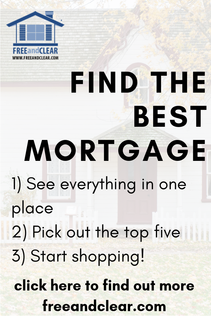 Current Mortgage Rates Compare Lenders Freeandclear Mortgage Rates Mortgage Tips Current Mortgage Rates