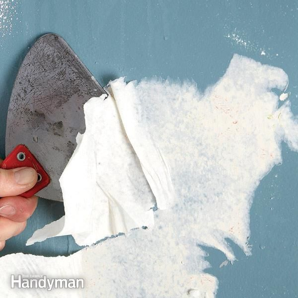 How to Remove Wallpaper Home improvement, Cool house