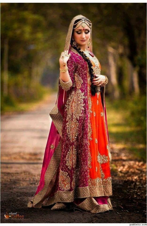 New Pakistani Wedding Dresses 2015