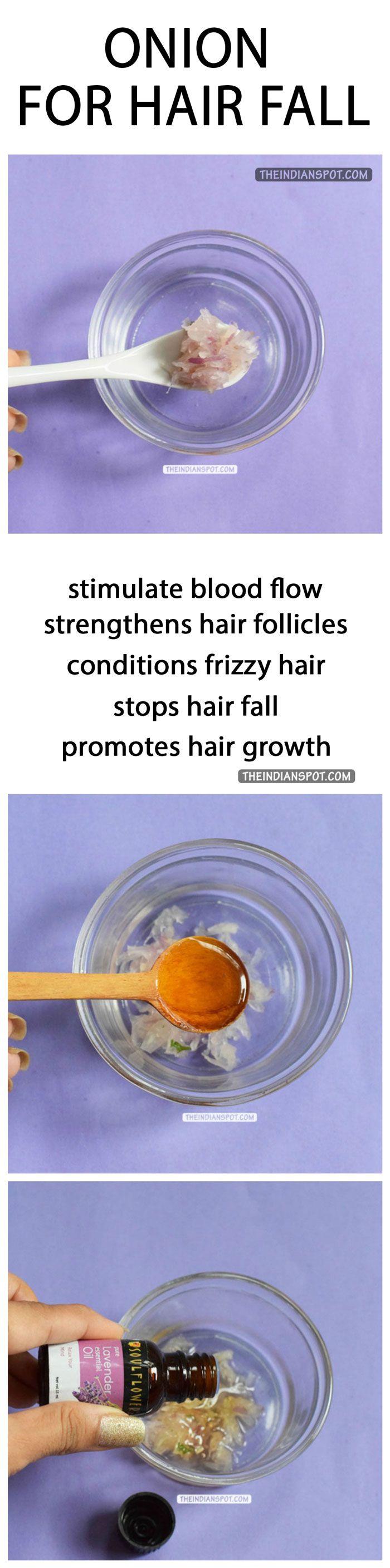 ONION HAIR TREATMENT FOR HAIR FALL Onion for hair, Fall