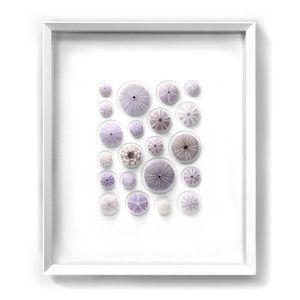 Lilac Urchin Mosaic, $790, now featured on Fab.  Could be a great DIY project!!!