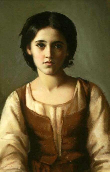 Fantasy young italian teen girl not