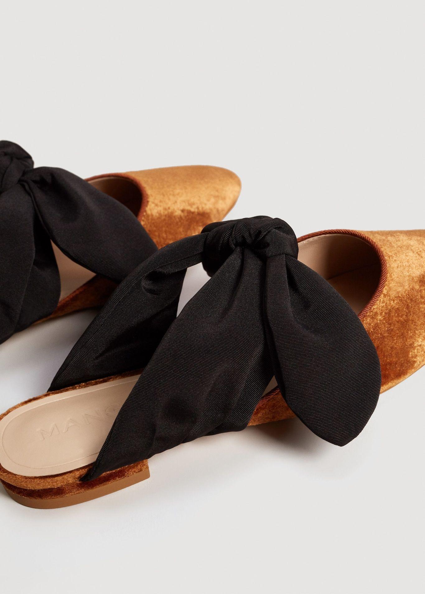 6636187c307 Knot velvet shoes