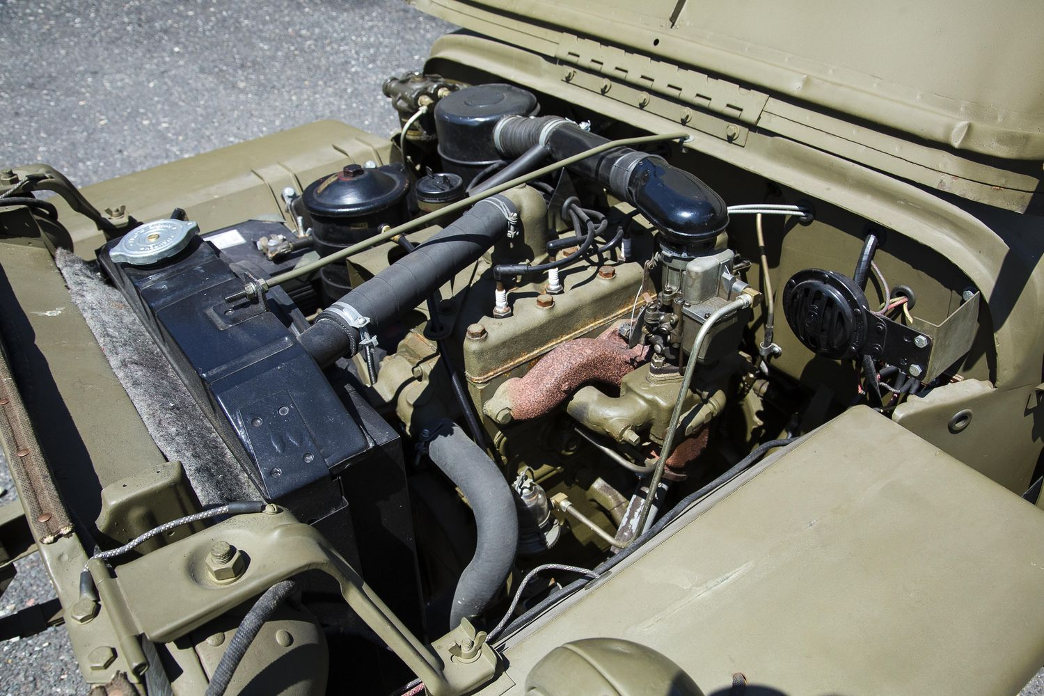 Found In Crate 1944 Willys Mb Jeep To Cross Willys Mb