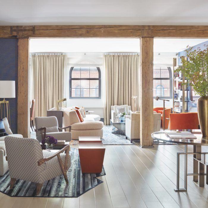 a historic manhattan loft is transformed for a modern family top rh pinterest com