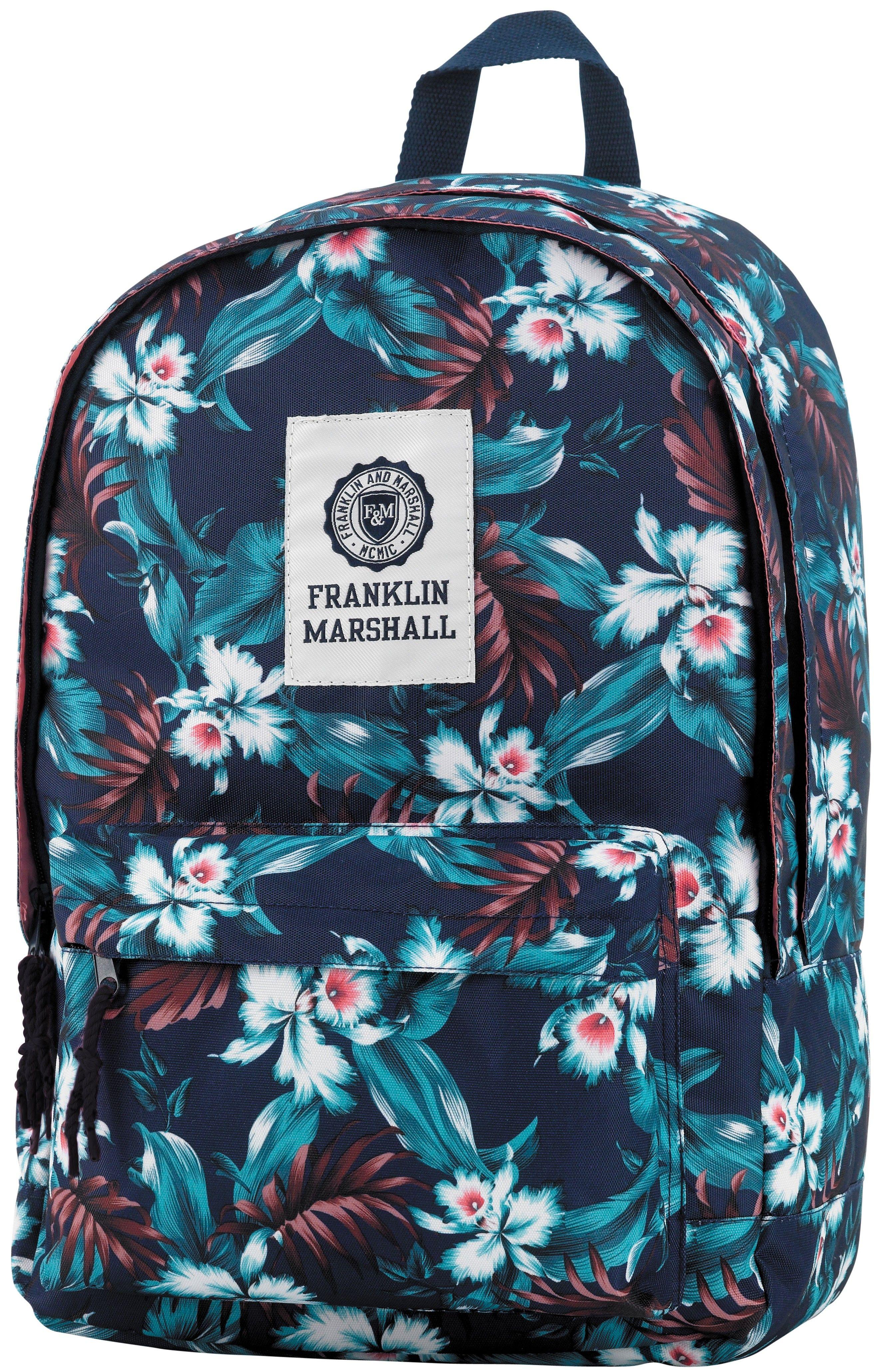 3d5c64f62a7 Neem al je speelgoed, schoolboeken en sportartikelen mee in deze nieuwe  rugzak van Franklin Marshall