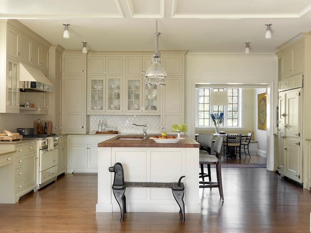 20 Awesome Tan Kitchen Cabinet Ideas If