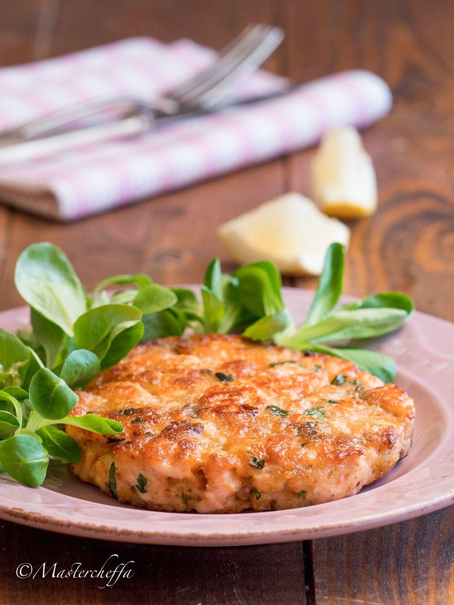 Photo of Fresh salmon burger