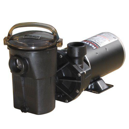 Hayward Sp1580 Power Flo Lx Series 1 Horsepower Pool Pump With Cord Above Ground Pool Pumps Pool Pump Pool Supplies