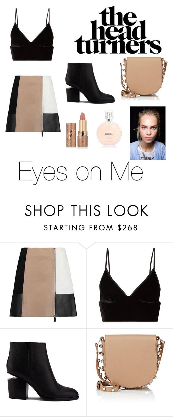 """The Head Turner"" by cheekylillo ❤ liked on Polyvore featuring Alexander Wang, T By Alexander Wang and tarte"