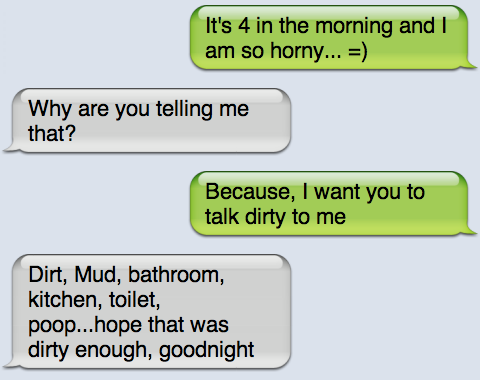 Talk text dirty Hottest Sexting