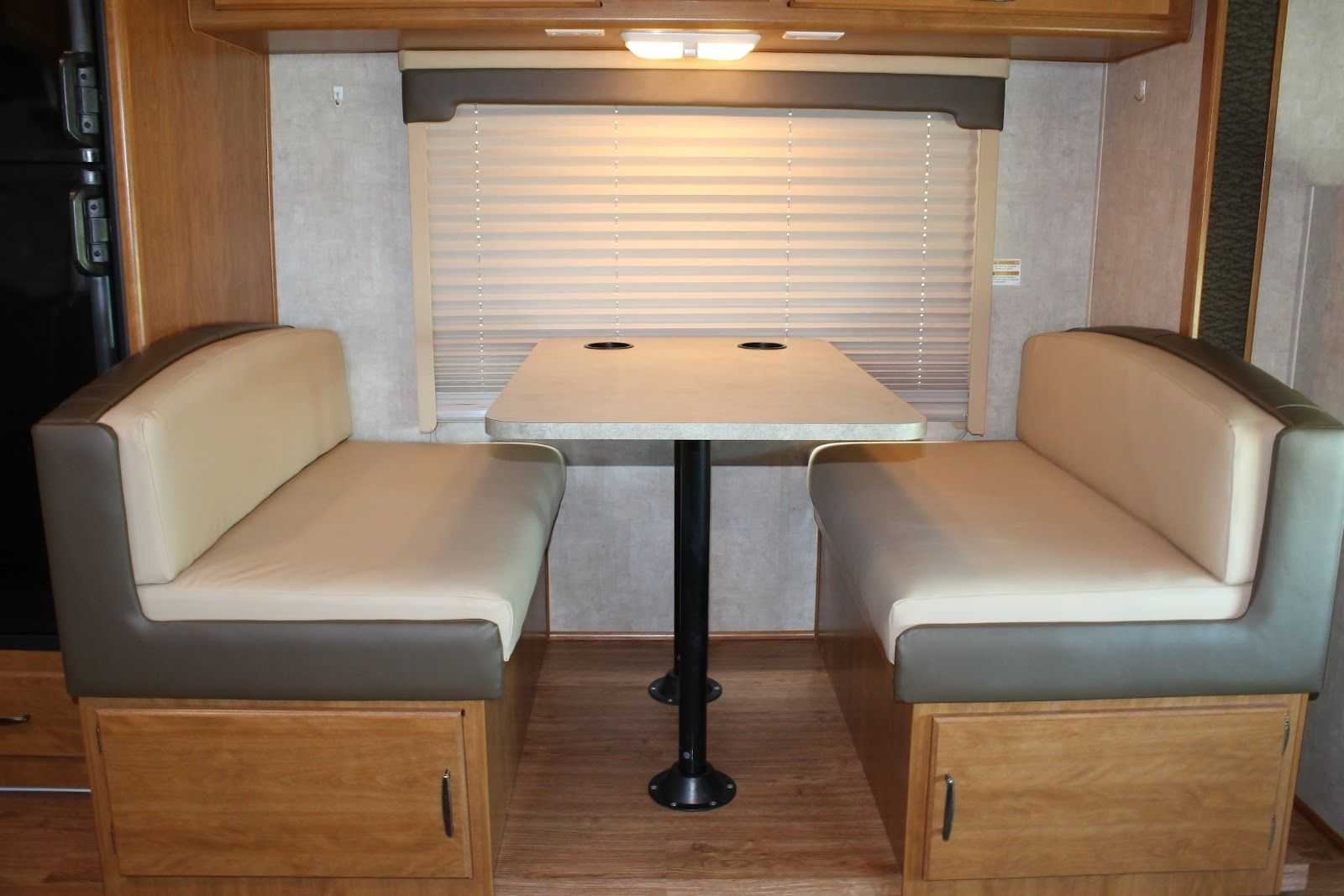 Rv Kitchen Table Cushions Camper Interior Design Dinette Interior Design