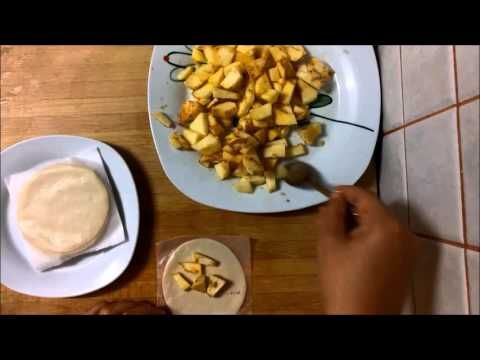 Empanadillas de manzana - YouTube