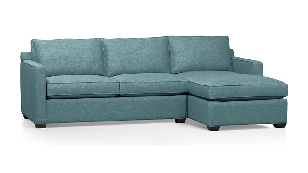 davis 2 piece sectional sofa in teal stuff to buy sectional sofa rh pinterest com