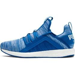 Photo of Puma Kinder Indoorschuhe Mega Nrgy Heather Knit Ac, Größe 31 In Strong Blue-Puma White, Größe 31 In