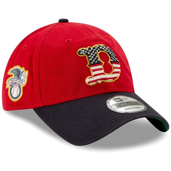cheap for discount 9d8e7 aa4a6 Men s Detroit Tigers New Era Red Navy 2019 Stars  amp  Stripes 4th of July