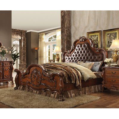 astoria grand selma upholstered panel bed products traditional rh pinterest com