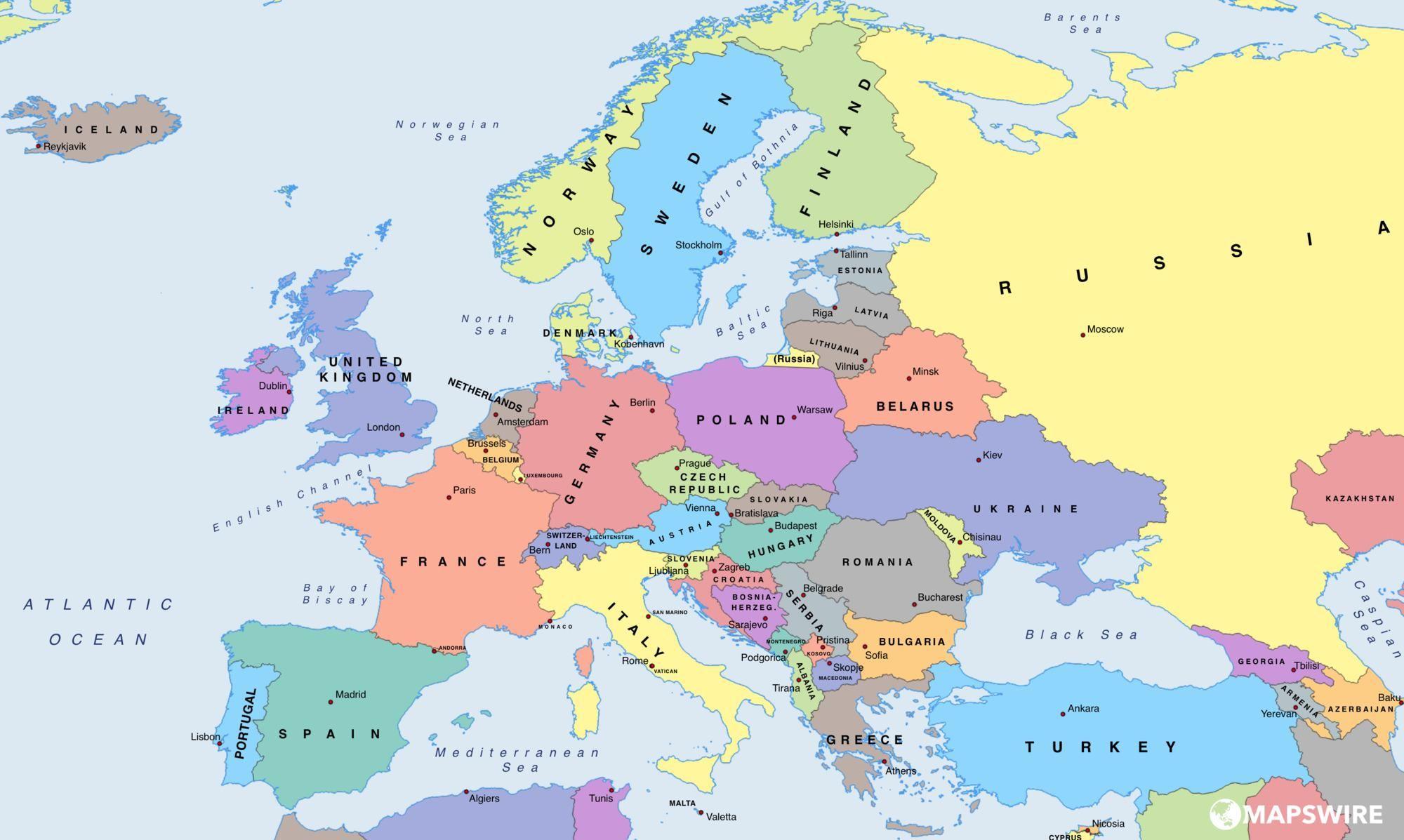 Europe political map largeg 20001197 jpg pinterest europe political map largeg 20001197 gumiabroncs Choice Image