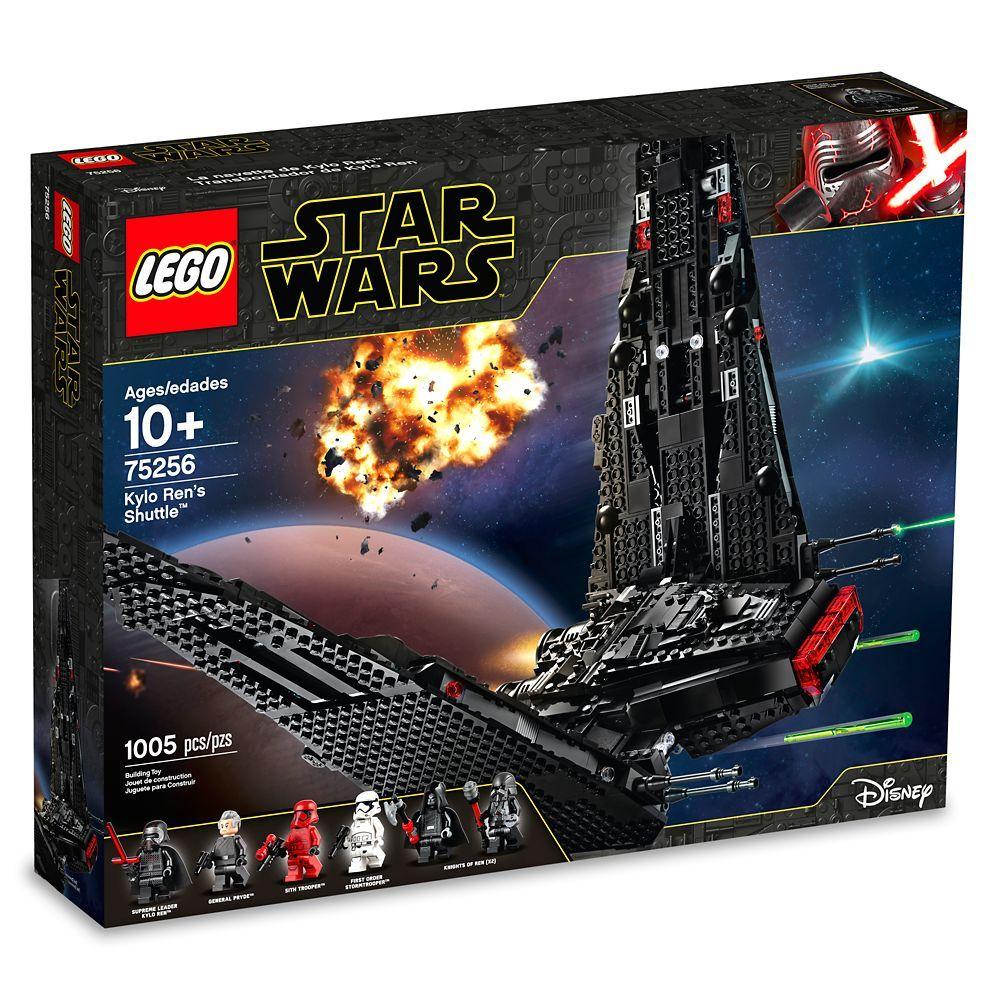 Lego Star Wars Kylo Ren S Shuttle Shopdisney In 2020 Lego Star Wars Sets Lego Star Wars Kylo Ren Shuttle