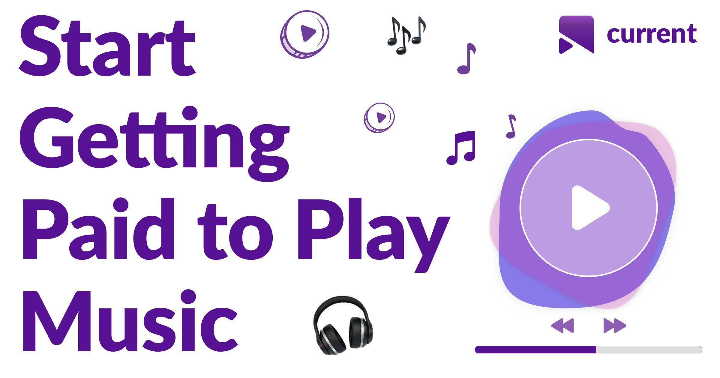 Freeearningapp currentmusic listen to music and earn