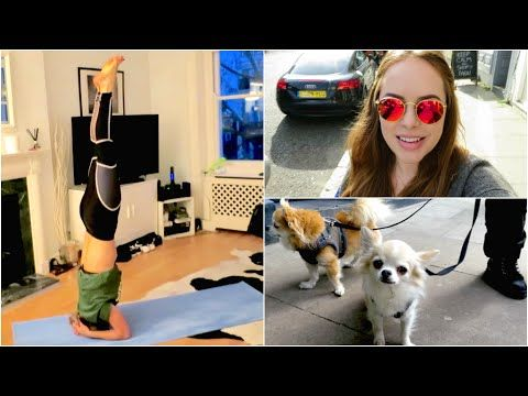 Boxing, Cute Lunch Date & Headstands!   Tanya Burr