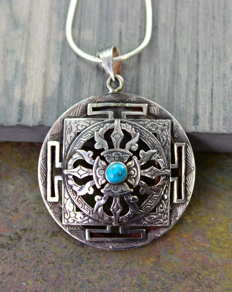sterling exquisite f pendant silver meteorite phurba and img zoom dorje