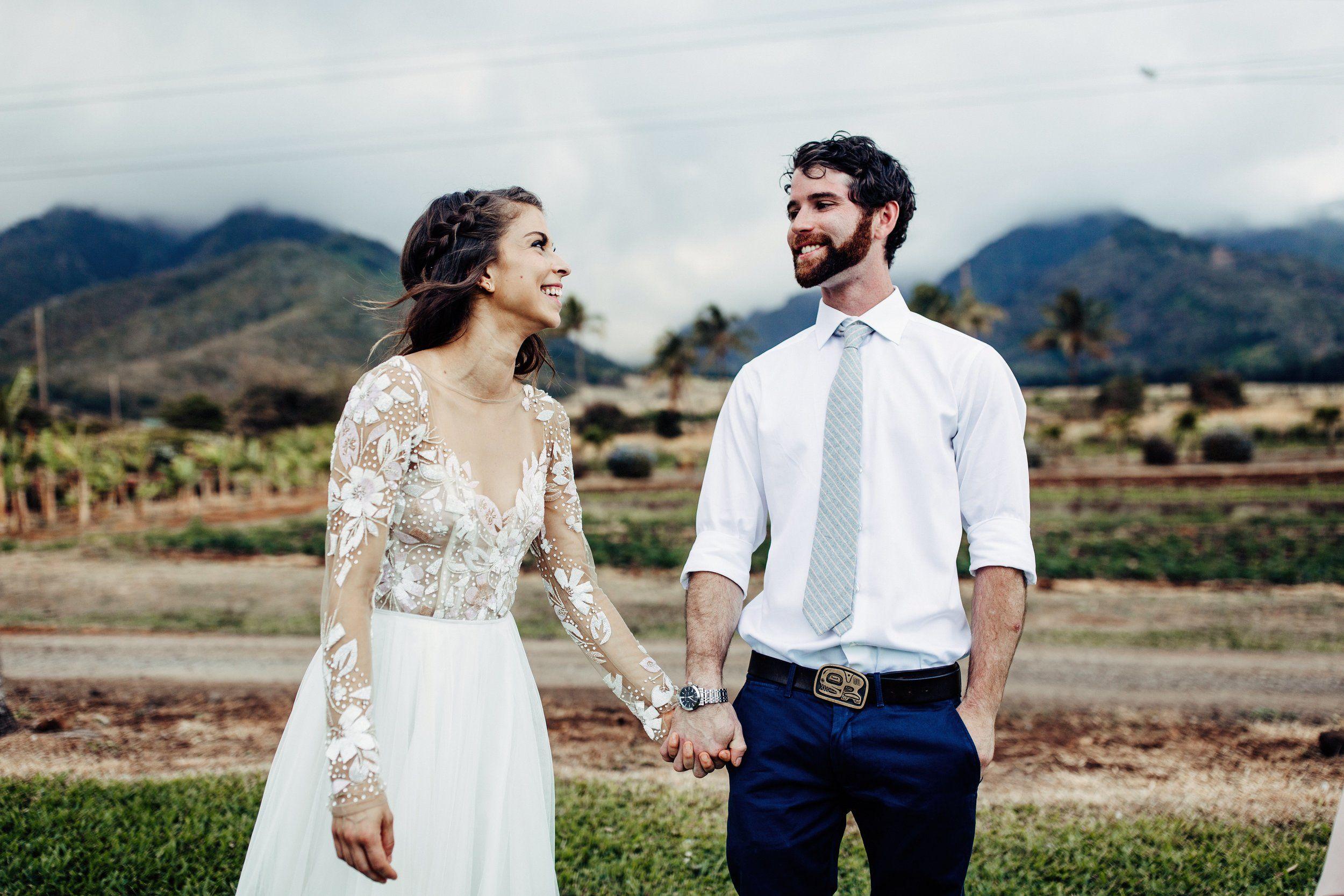 Intimate weddings Maui Tropical Plantation Wedding