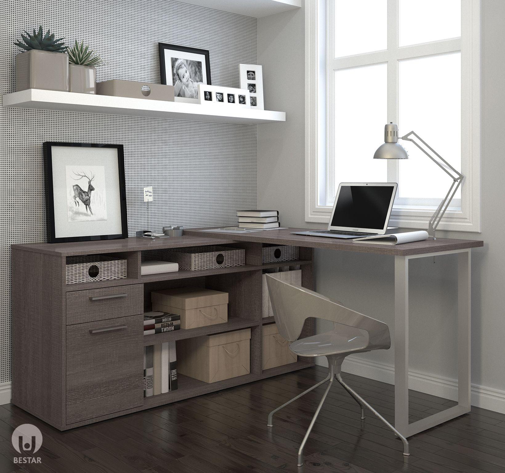 station de travail oficina o estudio pinterest desk l shaped rh pinterest com
