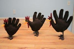 handprint turkeys 3D