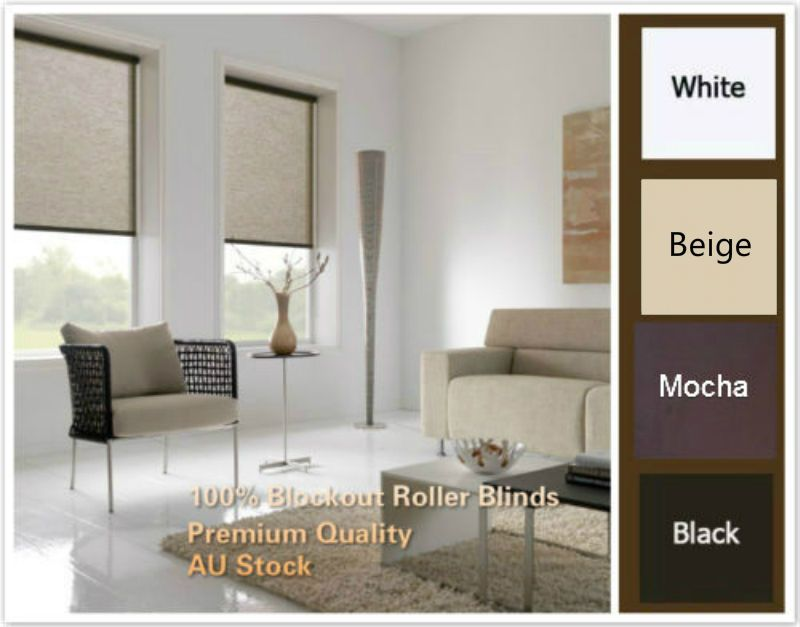 100 Blockout Roller Blinds 4 Colors And 5 Size Top Quality Window Decorations With Images Window Decor Quality Windows Roller Blinds