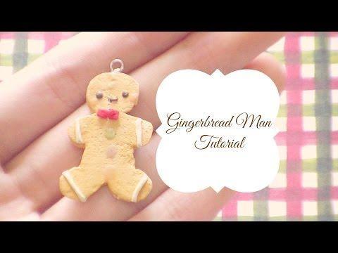 Gingerbread Man Polymer Clay Tutorial {CHRISTMAS COLLAB}