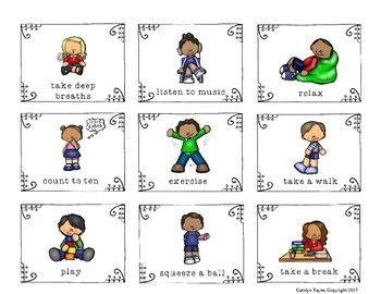 calming strategies activities for the classroom