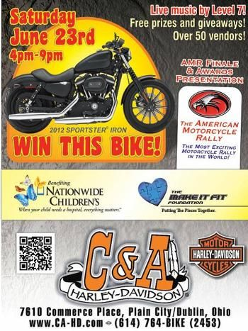 American Motorcycle Rally Party June 23rd Motorcycle Rallies