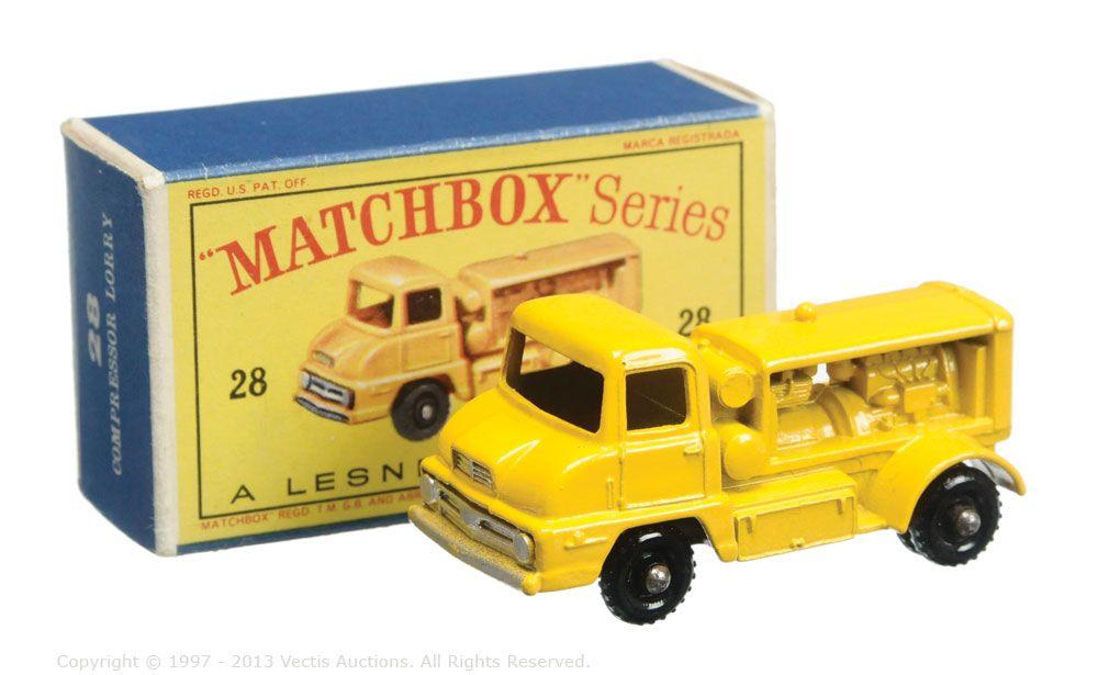 Matchbox Regular Wheels No.28B Thames Trader Compressor Truck ...