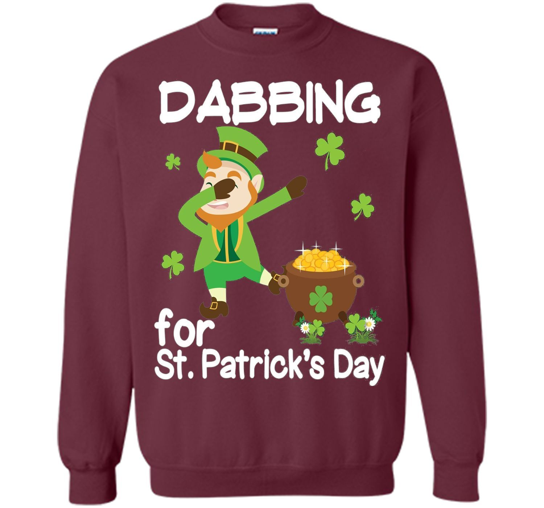 Leprechaun Dab Dabbing for St Patrick Day Pot of Gold Tshirt